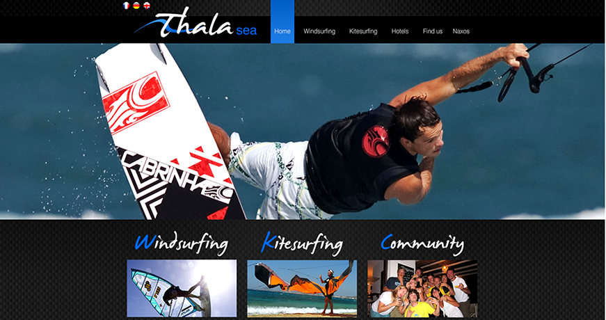web site design for summer sports